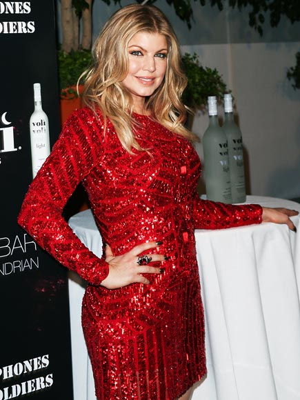 LADY IN RED photo   Fergie