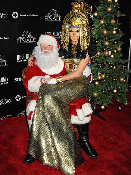 CLEOPATRA AND CLAUS photo | Heidi Klum
