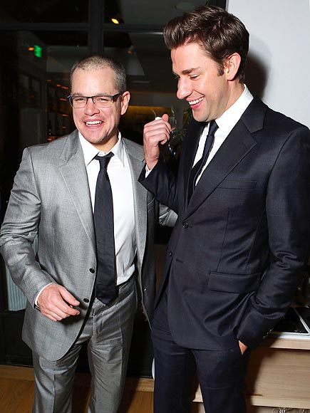 LAUGH FACTORY photo | John Krasinski, Matt Damon