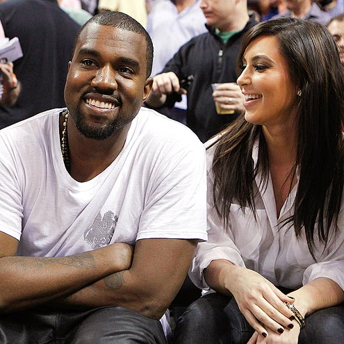 A 'COUPLE' OF FANS photo | Kanye West, Kim Kardashian