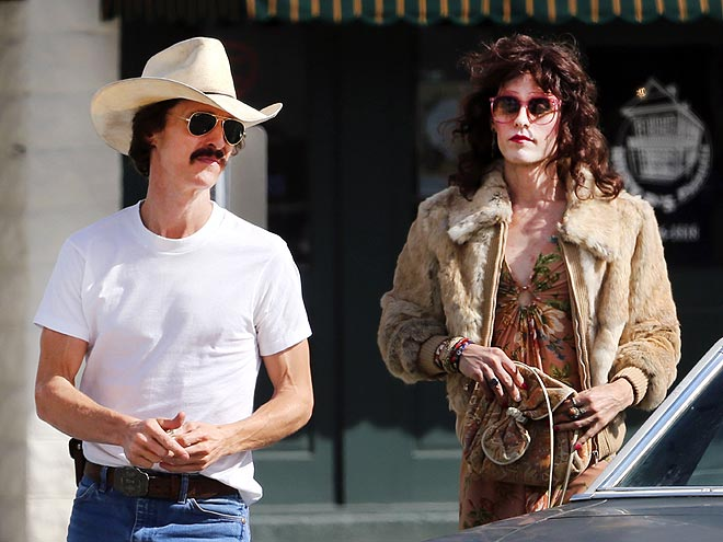 MAKING A SCENE photo | Jared Leto, Matthew McConaughey