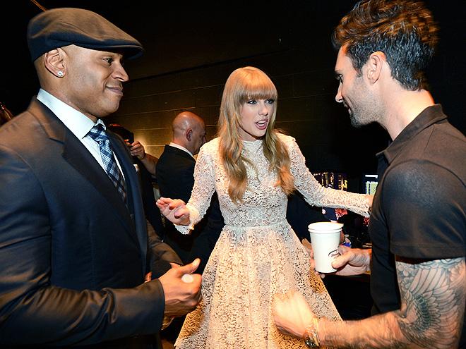 FAST FRIENDS photo | Adam Levine, LL Cool J, Taylor Swift