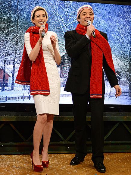 JOYFUL NOISE photo | Anne Hathaway, Jimmy Fallon