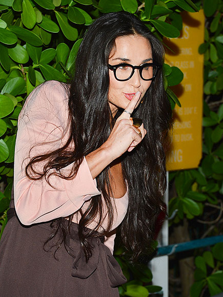 Miami Sneak photo | Demi Moore