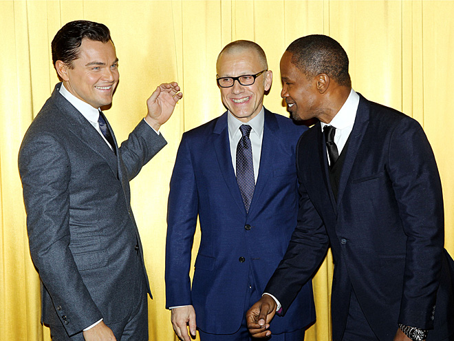 STAR WATTAGE photo | Christoph Waltz, Jamie Foxx, Leonardo DiCaprio