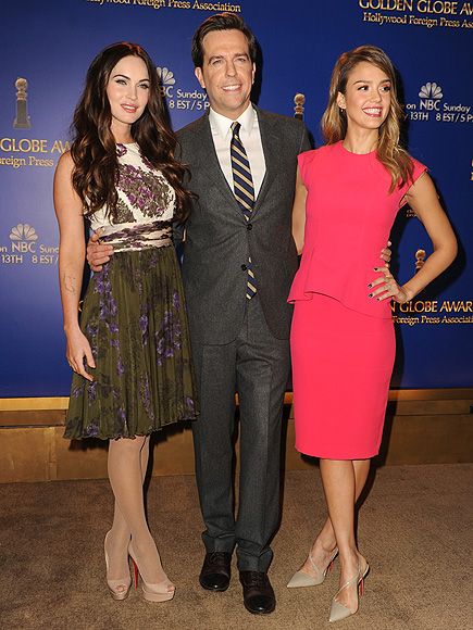 GOOD AS 'GOLD' photo | Ed Helms, Jessica Alba, Megan Fox