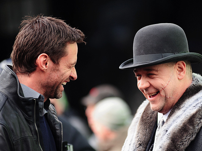 SEE & BE SCENE photo | Hugh Jackman, Russell Crowe