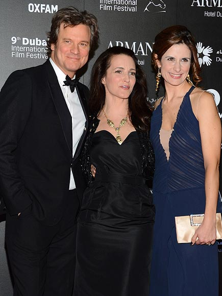 GLAM SQUAD photo | Colin Firth, Kristin Davis