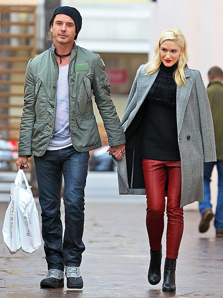 WALK ON photo | Gavin Rossdale, Gwen Stefani