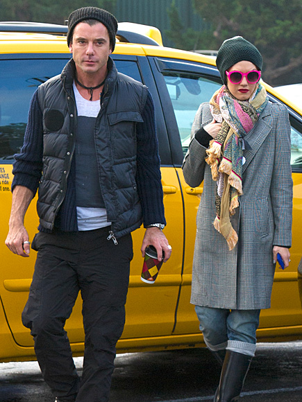 BRIGHT FORECAST photo | Gavin Rossdale, Gwen Stefani