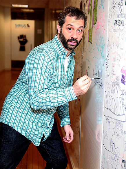 WRITING'S ON THE WALL photo | Judd Apatow