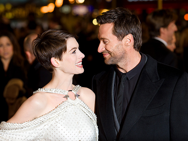 GO AHEAD, STARE photo | Anne Hathaway, Hugh Jackman