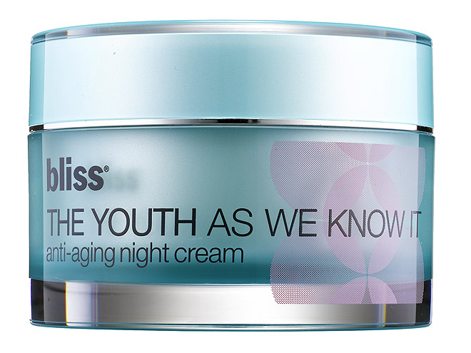 "BLISS ""THE YOUTH AS WE KNOW IT"" NIGHT CREAM photo 