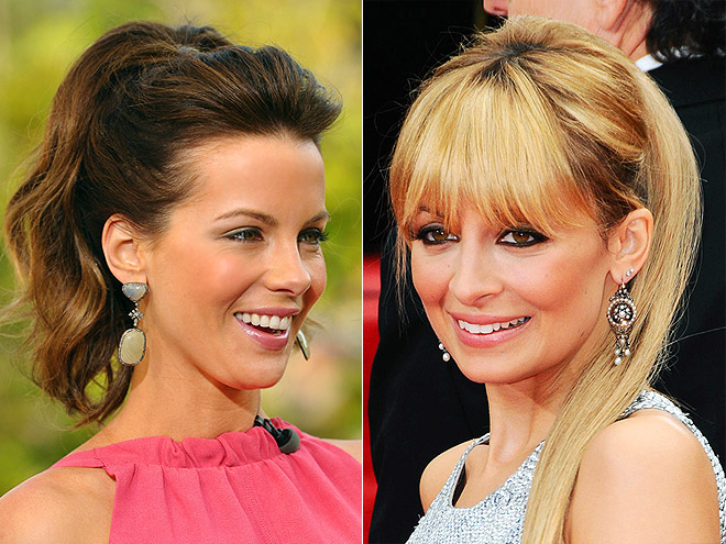 VOLUMINOUS PONY photo | Kate Beckinsale, Nicole Richie