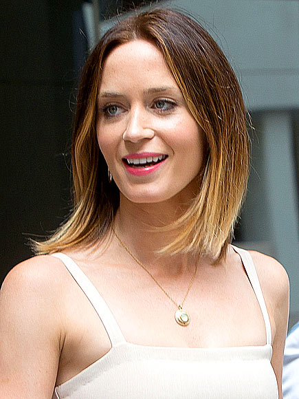 OVER-THE-TOP OMBRÉ photo | Emily Blunt