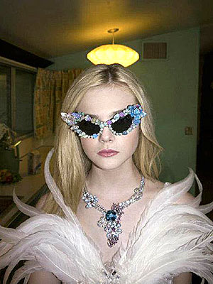 elle fanning 300x400 Elle Fanning Models Rodarte's Spring Collection