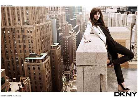 Ashley Greene DKNY Ads