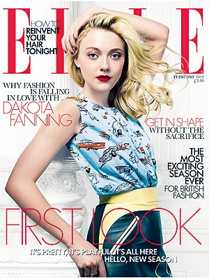 Dakota Fanning Elle UK