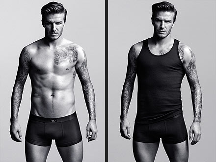 David Beckham Underwear Ads H&M