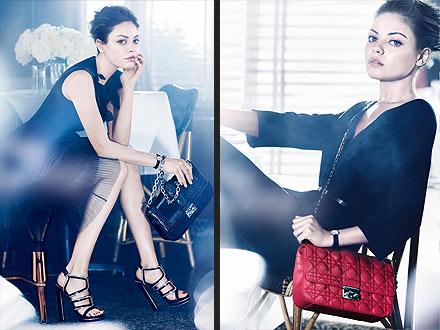 Mila Kunis Dior Ads