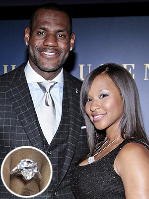 LeBron James Engagement Ring
