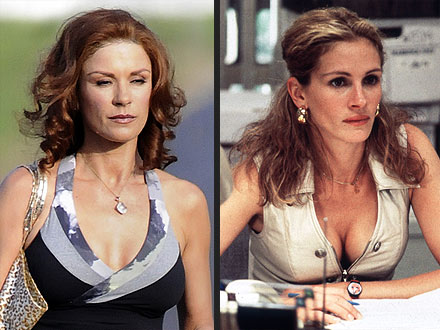 catherine zeta jones 440x330 Did Julia Roberts Inspire Catherine Zeta Jones's Bold Makeover?