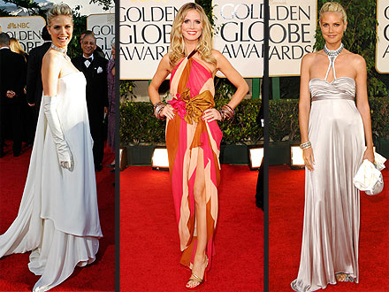 Heidi Klum Golden Globes