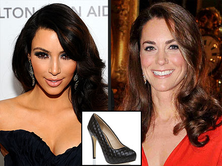 Kim Kardashian's Kate Middleton Shoes