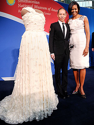 michelle obama 300x400 Jason Wu Only Wanted to 'Succeed in Fashion'