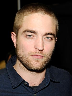 Robert Pattinson Shaved Head