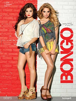 Bongo Ad Lucy Hale, Ashley Benson