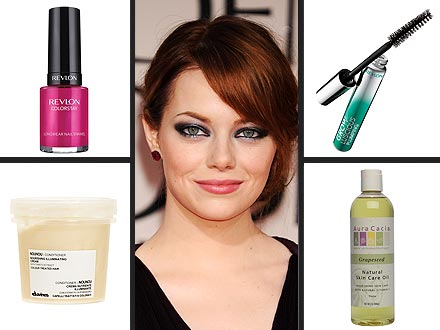 emma stone 440x330 Shop Emma Stones $57 Beauty Routine!
