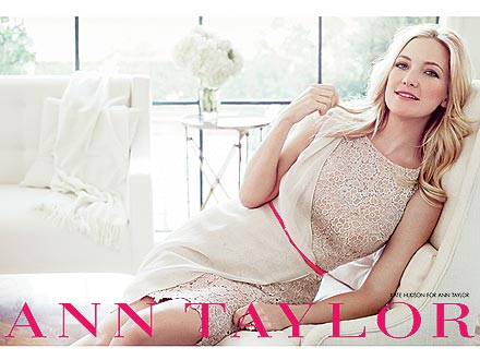 kate hudson 2 440x330 Kate Hudson Glows in Her First Ann Taylor Ads