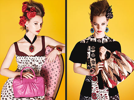 Miu Miu Fashion Ad with Mia Wasikowska