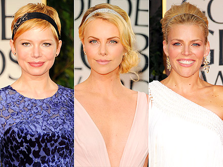 Golden Globes Red Carpet Headbands