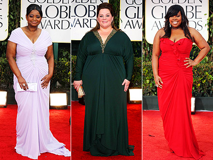 Octavia Spencer, Melissa McCarthy, Amber Riley