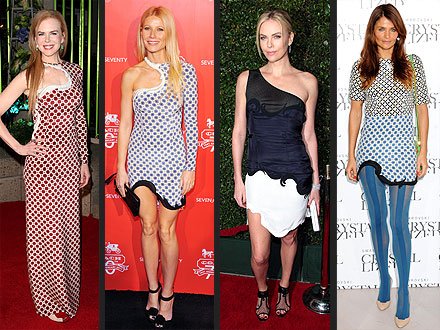 Gwyneth Paltrow, Charlize Theron: Stella McCartney Spring