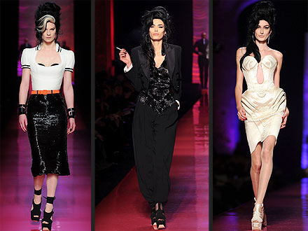 Jean Paul Gaultier's Amy Winehouse Tribute