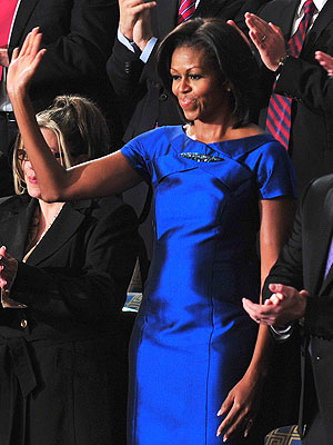 Michelle Obama State of the Union Dress: Barbara Tfank