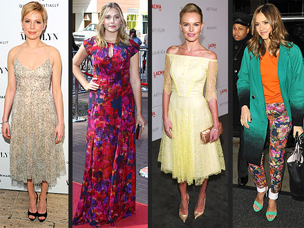 Jessica Alba, Michelle Williams, Kate Bosworth Choose Erdem