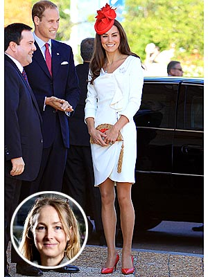 kate middleton 300x400 Designer Katherine Hooker: Kate Isn't Afraid to Say 'No'