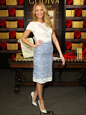blake lively 300x400 Lucky Lady: Blake Lively Receives Louboutins Entire Spring Collection