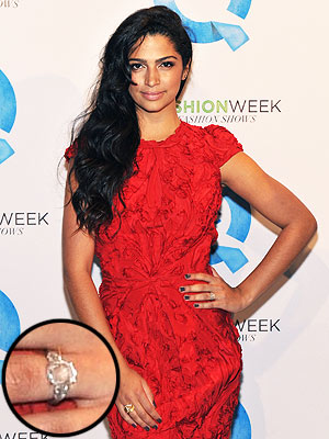 Camila Alves Engagement Ring