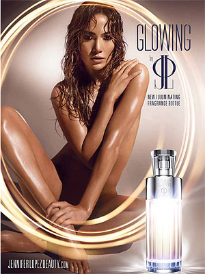 Jennifer Lopez Glowing