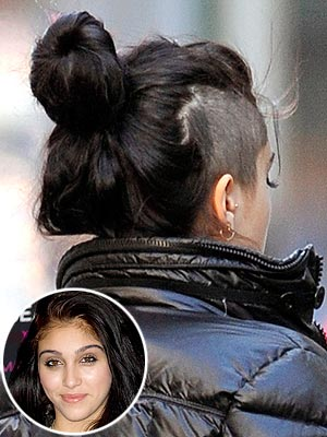 Lourdes Leon Shaved Head