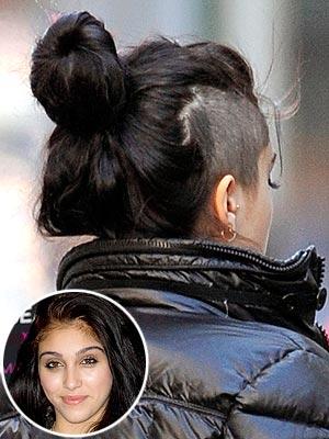 Lourdes Leon Shaved Head