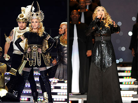 Madonna Halftime Show Super Bowl 2012