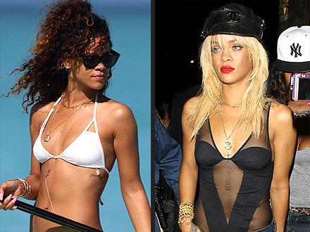 Rihanna Bikini Style