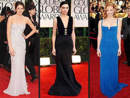Shailene Woodley, Rooney Mara, Jessica Chastain