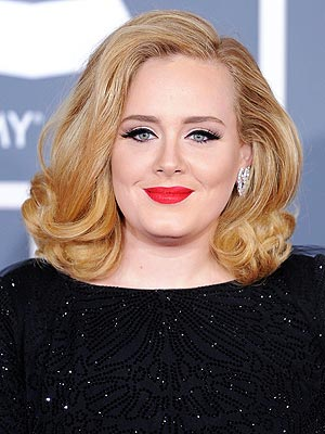 adele 300x400 The Story Behind Adele's Platinum Locks